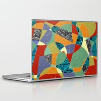 the 100 Laptop & iPad Skins featuring Abstract #100 by Ron Trickett (Rockett Graphics)