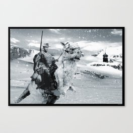 Man with No Name on Hoth Canvas Print