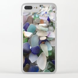 Sea Glass Assortment 2 Clear iPhone Case
