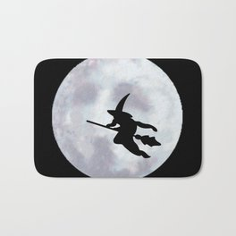 Witch, Witch Flying Across the Moon Bath Mat