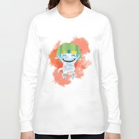 kiki Long Sleeve T-shirts featuring King KiKi by Unknown Illustration