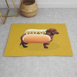 Dachshund Wiener Hot Dog Rug