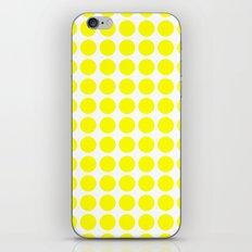 BIG YELLOW DOT iPhone & iPod Skin