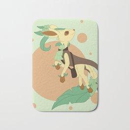 Leaf Steampunk Fox Bath Mat