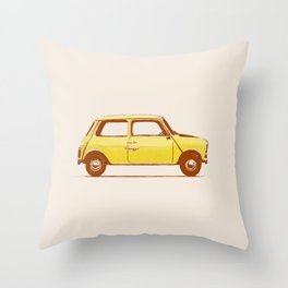 Famous Car #1 - Mini Cooper Throw Pillow