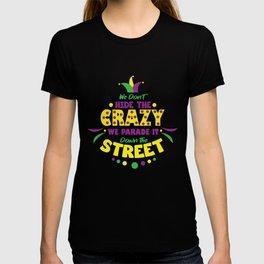 Carnival Costume Mardi Gras New Orleans T-shirt