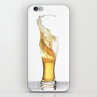 beer iPhone & iPod Skins featuring Beer by Giorgio Arcuri