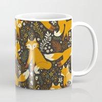 fox Mugs featuring Fox Tales by Anna Deegan
