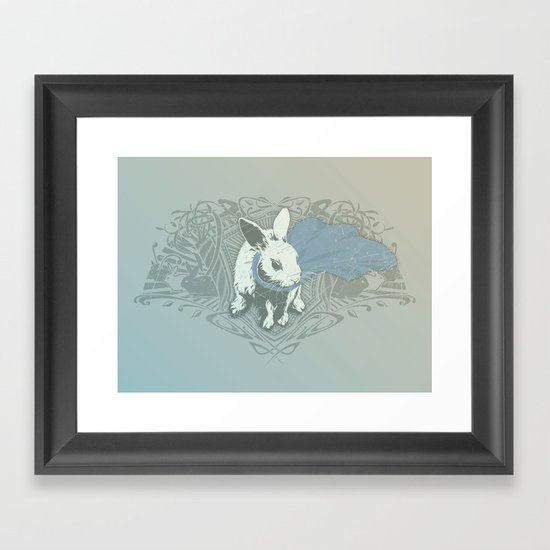 Fearless Creature: Rabz Framed Art Print
