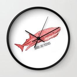 Kawaii Whale Shark Wall Clock
