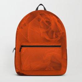 Bloomed Rose Warm Orange Backpack