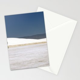 Picknick At White Sands Stationery Cards