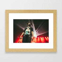 Danny Brown Live Concert Framed Art Print