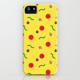 Postmodern Pizza Slice iPhone Case