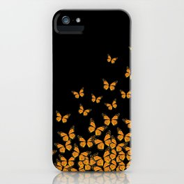Imperial Butterfly Dark iPhone Case