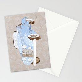 vintage jalopy - poppy Stationery Cards
