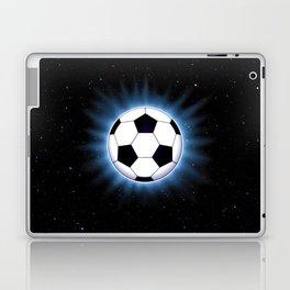 Spacey Soccer Ball Laptop & iPad Skin