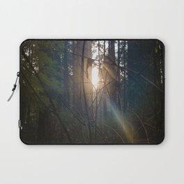 Forest Light Laptop Sleeve