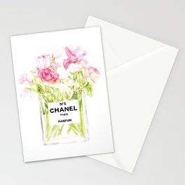 PERFUME FLORAL No.5 Stationery Cards