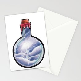Storm in a bottle Stationery Cards