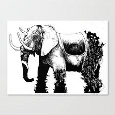 Elephant Machine God Canvas Print