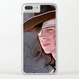 The Walking Dead - Carl Grimes Clear iPhone Case
