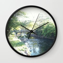 Maplewood - Memorial Park Wall Clock