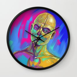 Zombie Boy Wall Clock