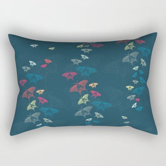 Nachtschwärmer – Fly by night Rectangular Pillow