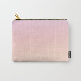 GRADIENT HORIZON - Minimal Plain Soft Mood Color Blend Prints Carry-All Pouch