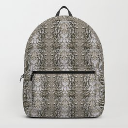 Beige brown abstract pattern Backpack