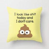 Bumming Around Throw Pillow