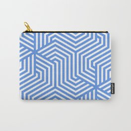 United Nations blue - turquoise - Minimal Vector Seamless Pattern Carry-All Pouch
