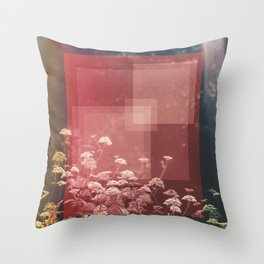 Abstract Finding Throw Pillow
