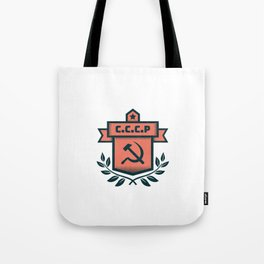 CCCP Modern Coat of Arms Tote Bag