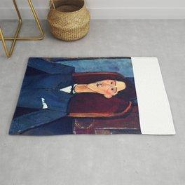 "Amedeo Modigliani ""Jean Cocteau"" Rug"