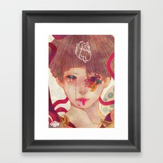 Who Are The Living Who Are The Dead Framed Art Print