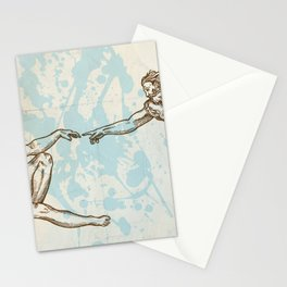 Creation of Adam hand drawn Stationery Cards