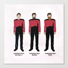 Stages of Riker Canvas Print