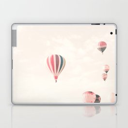 Hot Air Balloons, White Laptop & iPad Skin