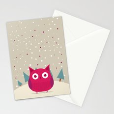 Cute owl Stationery Cards