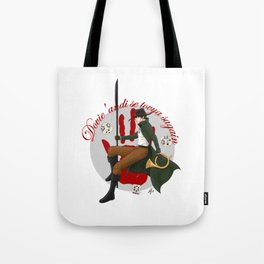 Time to toss the dice Tote Bag