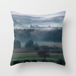 until the black forest Throw Pillow