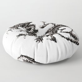 The Zodiac 12 - Dragon Floor Pillow