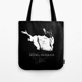 Aretha Franklin-Soul Music-Respect- Diva Tote Bag