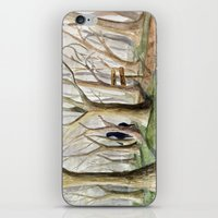 middle earth iPhone & iPod Skins featuring Middle Earth by Jeff Moser Watercolorist
