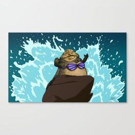 I Want To Be, Jabba Your World Canvas Print