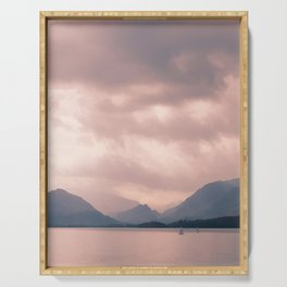 Derwent water and Borrowdale Valley Cumbria Serving Tray