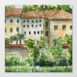 Across the Arno Canvas Print
