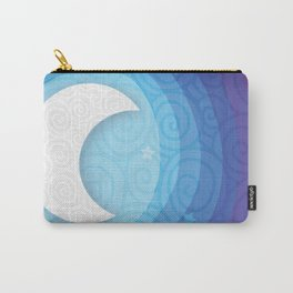 Good Night // Night Time Moon Carry-All Pouch